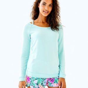 NWT Lilly Pulitzer Bungalow Sweatshirt size M
